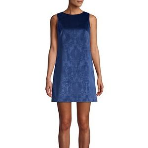 NEW Alice + Olivia Clyde Damask A-Line Shift Dress